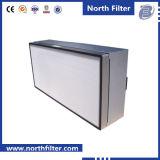 청정실 천장에 의하여 거치되는 처분할 수 있는 단말기 HEPA 공기 정화 장치 상자