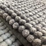 Assorbimento durevole anticorrosivo dell'acqua delle micro della fibra del Chenille del filato coperte domestiche antisdrucciolevoli del Doormat