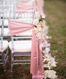 Cadeira de casamento de plástico Chiavari (PP + STEEL CORE)
