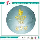 Incêndio - tampa de câmara de visita plástica artística resistente En124 de FRP D400