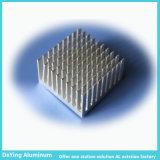Alliage en aluminium extrudé anodisé dissipateur de chaleur profil avec la couleur et de la section