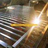 Perforato tramite la barriera di sicurezza saldata del germoglio