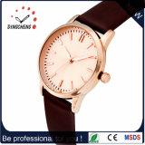 Reloj deportivo con el espesor de 6,0 mm de acero inoxidable reloj de cuarzo