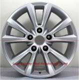 El aluminio de la buena calidad de 18 pulgadas bordea la rueda de la aleación