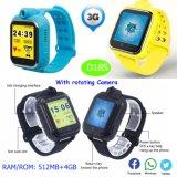 Los niños de 3G Tracker GPS Reloj con llamadas de vídeo (D18S)