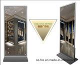 Spiegel-DigitalSignage des Fußboden-43inch stehender magischer, interaktiver Anzeigen-Spieler mit dem Bewegungs-Fühler, Spieler-Kiosk bekanntmachend