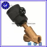 10 Methoden-Innengewinde-pneumatisches Dampf-Fluss-Winkel-Sitzventil des Stab-2