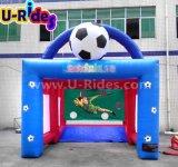 Túnel inflable del balompié para los niños