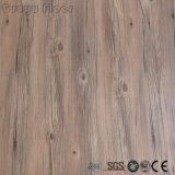 Le bois d'art de la Texture lâche en vinyle de jeter les revêtements de sol pour la décoration intérieure