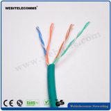 U/Cable de red no apantallado UTP Cat 5e instalación de cable de par trenzado