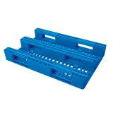 Standaard Plastic Pallet van de EU 1200*800*160mm HDPE Plastic Dienblad 2-4ton Statisch voor de Producten van het Pakhuis