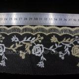 Accessori molli del filato di modo del merletto netto del ricamo che coprono la tessile del tessuto