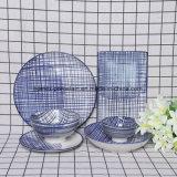 西部の普及した様式の陶磁器の食事用食器セット