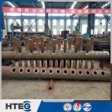 Intestazione di pressione della caldaia con il tubo senza giunte per la caldaia a vapore