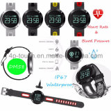 Wasserdichtes intelligentes Armband mit Puls-und Blutdruck-Monitor Dm58
