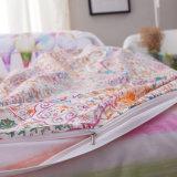 Jogo barato impresso Home da tampa do Duvet dos Bedsheets da tela de algodão de matéria têxtil