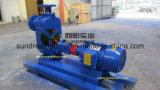 Zw Non-Clogging amorçage automatique de la pompe d'eaux usées
