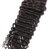 Do cabelo grosso da natureza de Hairl do Indian 100 de Remy Toupee profundo das mulheres da onda