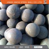 Hohe Verschleißfestigkeit-geschmiedete reibende Stahlkugeln mit niedrigem Preis