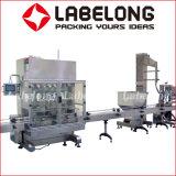 3.000 bph de aceite de engrase o lubricación de la limitación de llenado de aceite de máquina de etiquetado