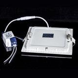 최고 가격 6W LED 위원회 빛 사각 LED 천장 램프