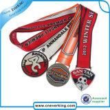 記念品のギフトのための高品質の締縄の金属メダル締縄