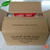 Roulis de papier d'aluminium pour l'emballage