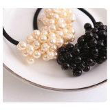 Capelli elastici dell'anello degli elastici della perla degli accessori dei capelli