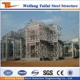 Dos historias prefabricaron el edificio del acero estructural para el taller del almacén