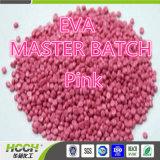 EVA plástico Masterbatch Rosa