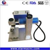 20W 30W 50Вт Mini портативный станок для лазерной маркировки волокон