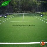 Césped o hierba artificial antideslizante para la base de entrenamiento
