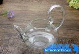 Оптовая торговля высокий термостойкий Teapot из прозрачного стекла