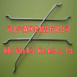 引っ掛けられた緩い鋼鉄ファイバー0.55mm 0.75mm /Steelのファイバーのコンクリート