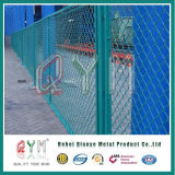 PVC покрыл сетку звена цепи квадратные/крен сетки звена цепи