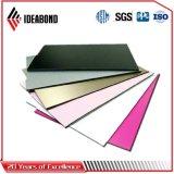 耐候性があるアルミニウム壁パネル(AF-407)に塗るIdeabondシャンペンの金PVDF