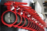 Válvula de controle Industrial Demco de duplo eixo com CE ISO Aprovado (D7A1X-10/16)