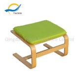 여가 의자를 위한 신제품 사각 모양 나무로 되는 발판