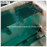 verre trempé de 10mm spécialisé en bords Polished en verre de douche