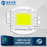 White High Power 80W COB LED를 위한 Lm 80 Certificate 미국 Bridgelux 45mil Chip