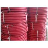 Tipo regolare tubo flessibile Braided di pressione di olio della fibra rossa