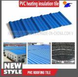 Azulejo de azotea español revestido de la resina sintetizada del PVC del plástico de la terracota del Asa