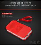 De nieuwe Privé Mini draadloze Spreker Bluetooth van de Vorm met de Aandrijving van de Flits van de Steun USB