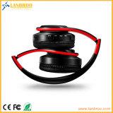 접히는 Bluetooth 헤드폰 무선 입체 음향 음악 호환성 PC/Mobile/TV/Micro SD TF 카드