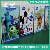 feuille de mousse de /PVC de panneau de mousse de PVC de blanc de 3mm
