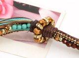 Фасетка Colar Multi слоя длинняя макси отбортовывает ожерелье для женщин