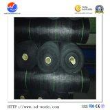 De Zwarte Mat van uitstekende kwaliteit van het Onkruid van de Dekking van de Grond van de Stof van het Landschap van het Polyethyleen 100GSM