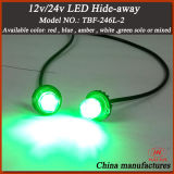 LED Hideaway Strobe Light / piscando Aviso Hideaway Lights / DC12-24V Hide Away Kits