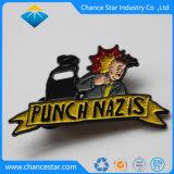 Custom мигаетмягкой эмали булавка производитель Китай