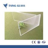 6-15mm templado transparente para el baño con ducha de vidrio esmerilado